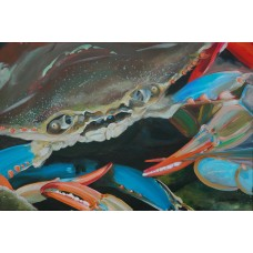 Blue Crab Original Painting