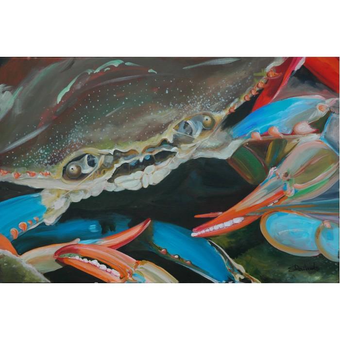 Blue Crab Original Painting