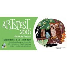 Artsfest '16 Fine Arts Festival