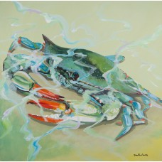 Blue Crab Under Water
