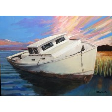 Chesapeake Bay Diedrise 24 x 18 acrylic on canvas