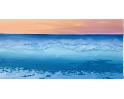 Wave 24 x 48 acrylic on canvas