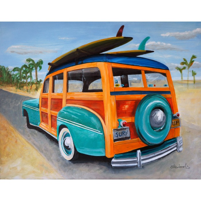 """Ford Woody Original Paint 16"""" x 20"""""""
